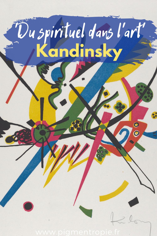kandinsky livre du spirtuel dans l'art résumé