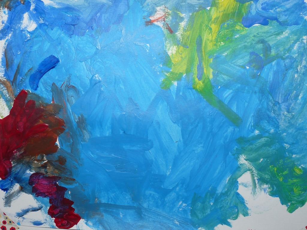 Les enfants créent-ils de l'art?