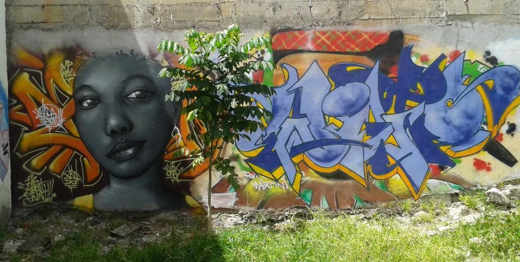 street art fort-de-france xan iki