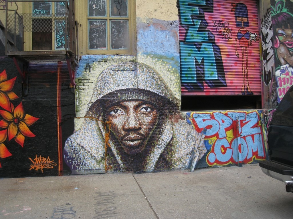 street art NYC 5 pointz soldat