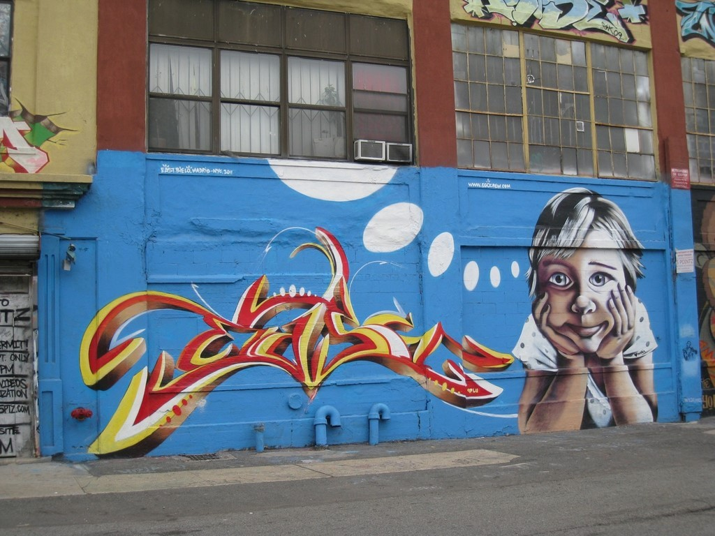 street art NYC 5 pointz