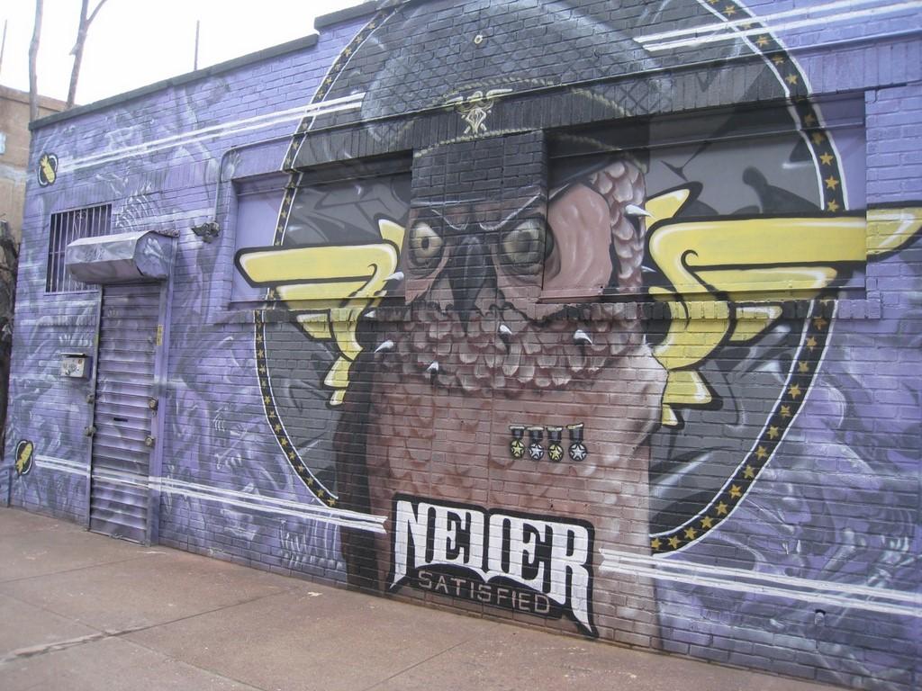 street art NYC 5 pointz hibou