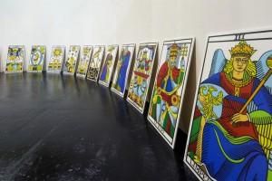 Vue de l'exposition Jodorowsky au CAPC Bordeaux. Photo Arthur Péquin.