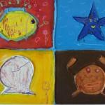 peinture mer enfant