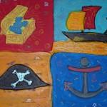 pirates peintures