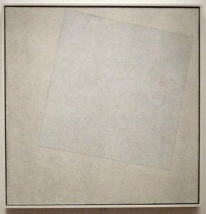 Kazimir Malevich - Carré blanc sur fond blanc