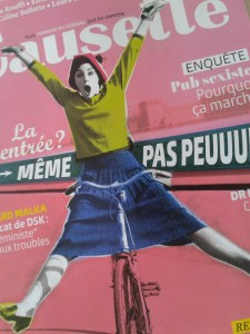 couverture magazine Causette septembre