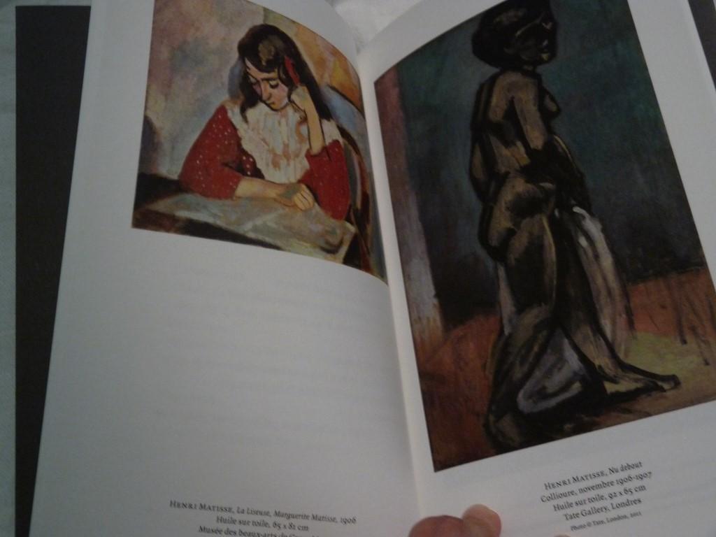 livre note d'un peintre - matisse
