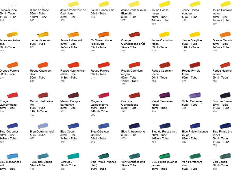 Les peintures sont toxiques for Peinture les couleurs