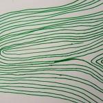 Lignes d'emprunes Elize vert