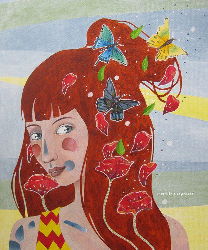 Marina Le Floch ébruite ses peintures