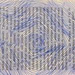 lignes bleues sur livre elize