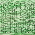 lignes vertes sur livre de poche Elize