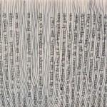 lignes grises sur livre de poche Elize