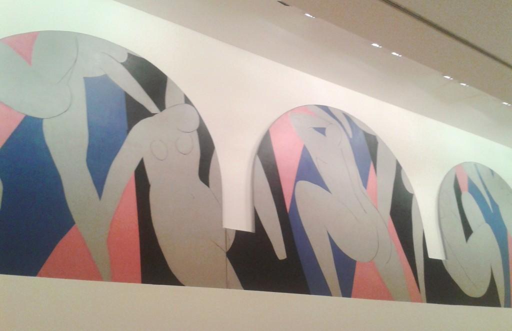 fresque de Matisse _ danse _ musee art moderne paris
