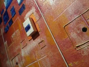 Jessy mucret tableau abstrait