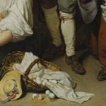 Détail du tableau de Jean-Baptiste Greuze
