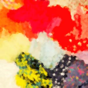 couleurs floues linge