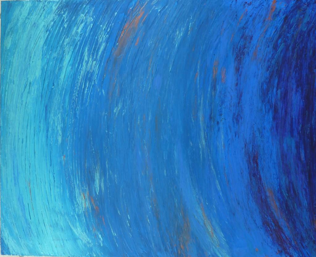 bleu acrylique elize
