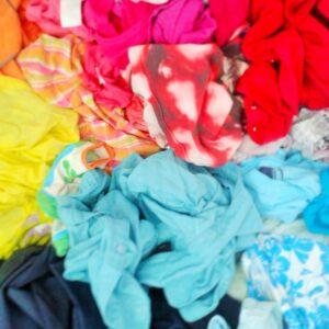 couleurs linge vêtements