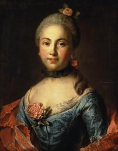 portrait femme Petrovich
