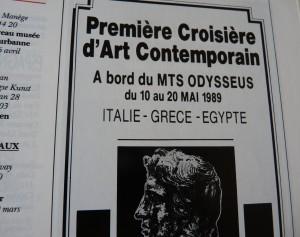 publicité croisière art
