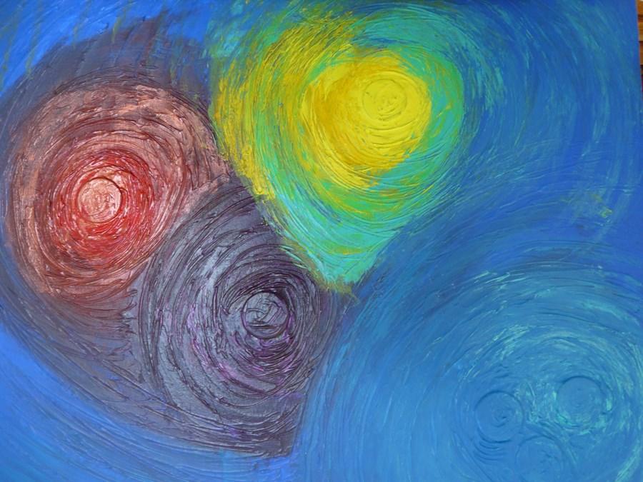 tableau peinture couleurs