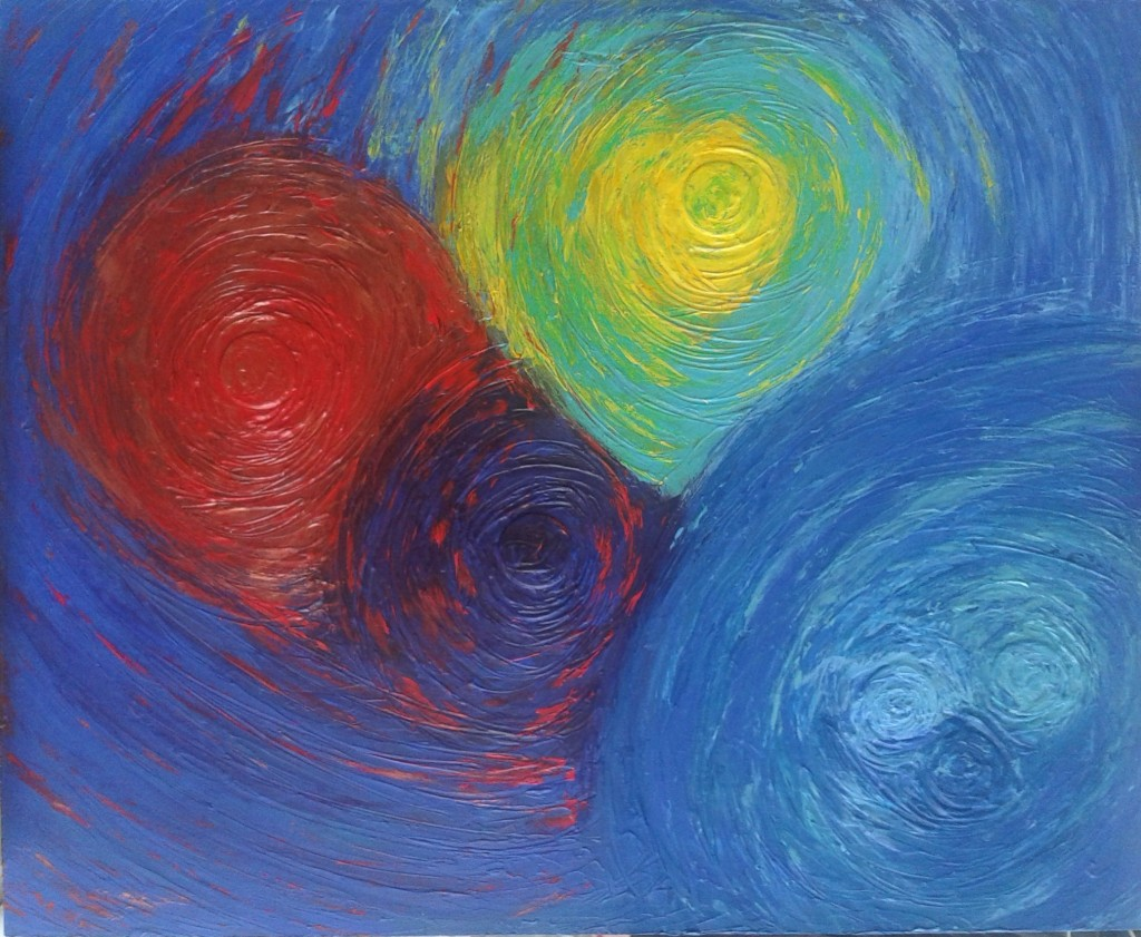 tableau peinture rotation