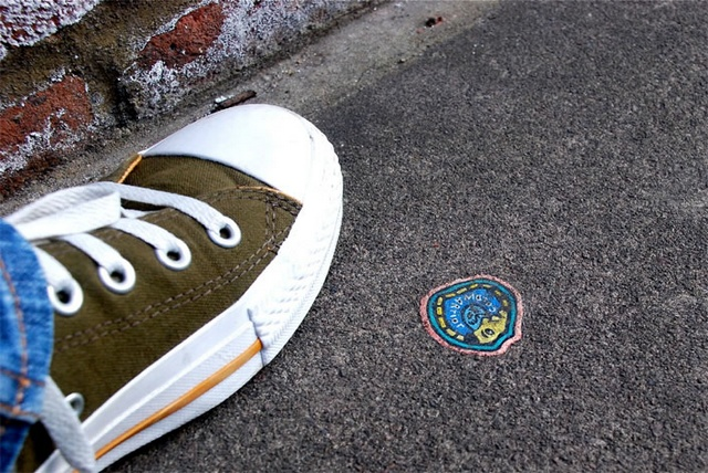 chewing gum art ben wilson
