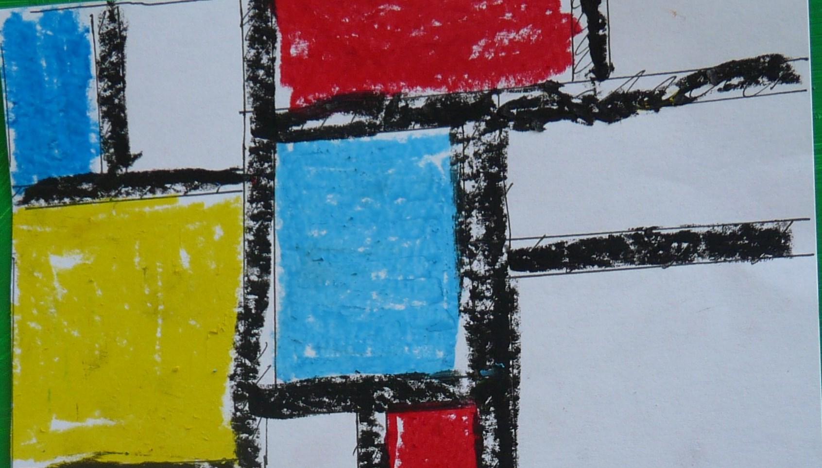 [Activité enfants] Créer comme Mondrian