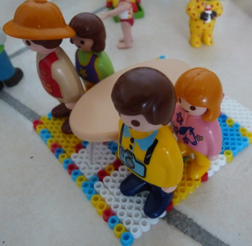 mondrian playmobile