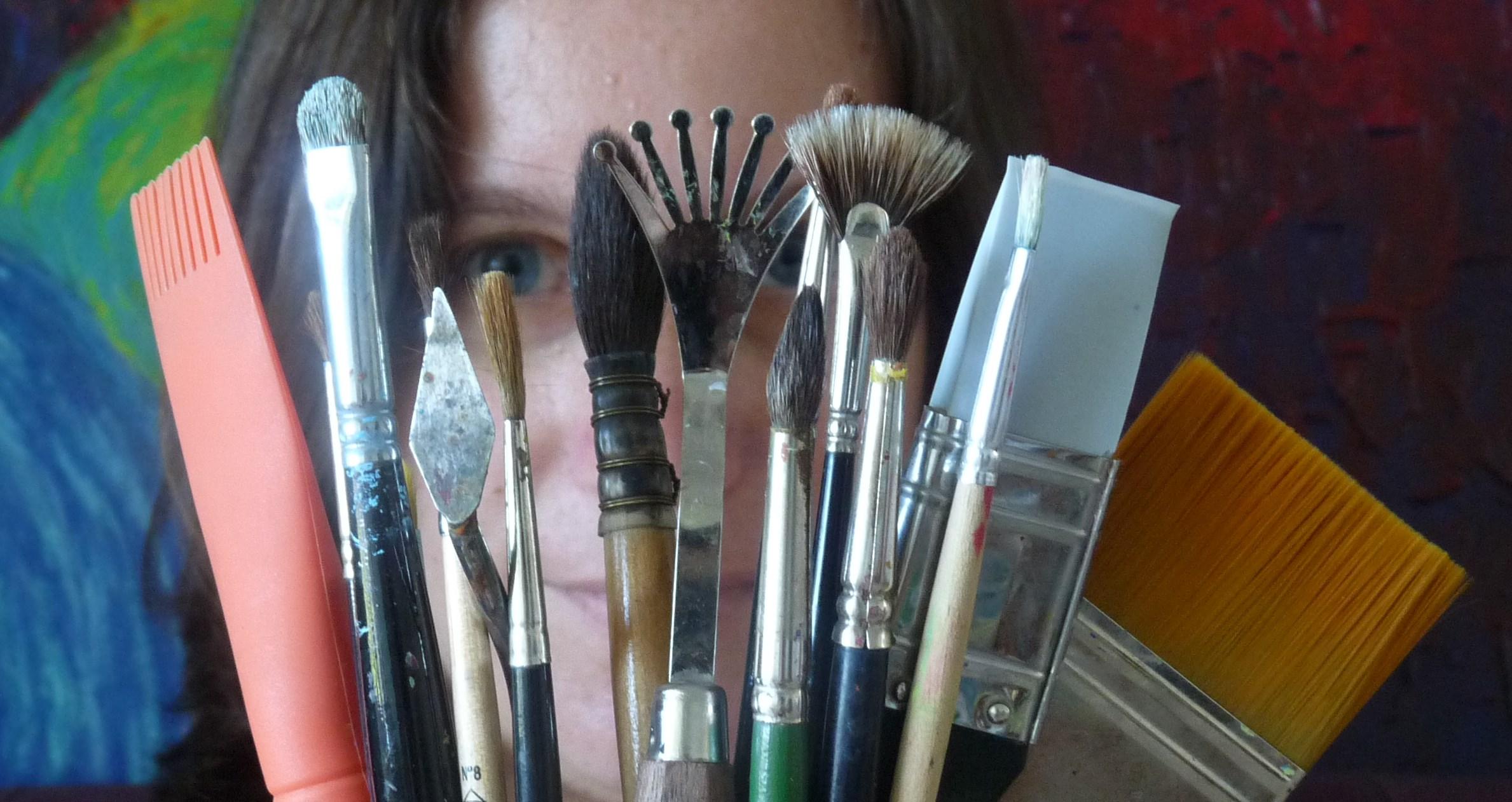Mes 11 outils indispensables pour peindre