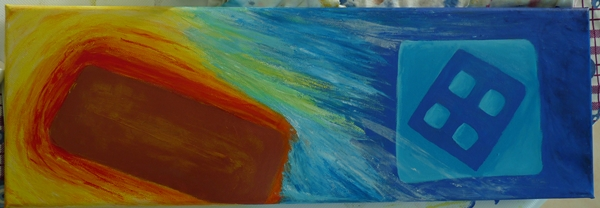 tableau pilule peinture