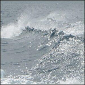 vague mer écume