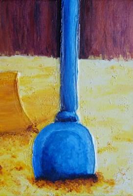 pelle sable composition centre bleu