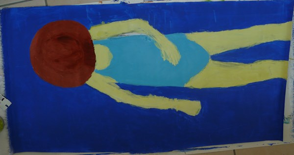 couleurs tableau plage