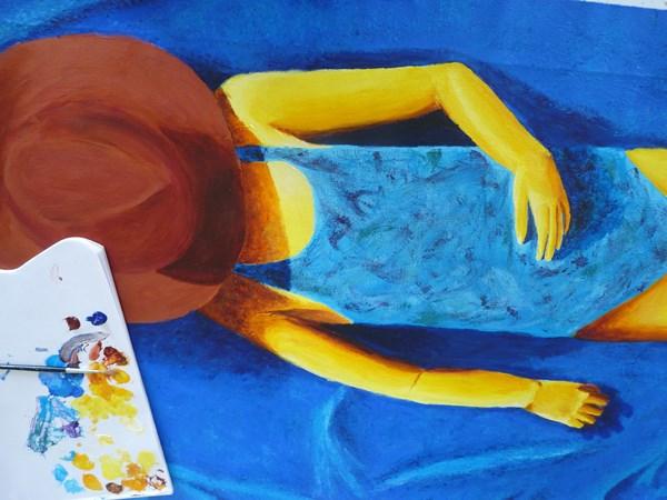 Se dorer la pilule : un tableau d'Elize