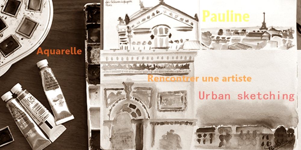 Rencontre avec Pauline | Urban sketch