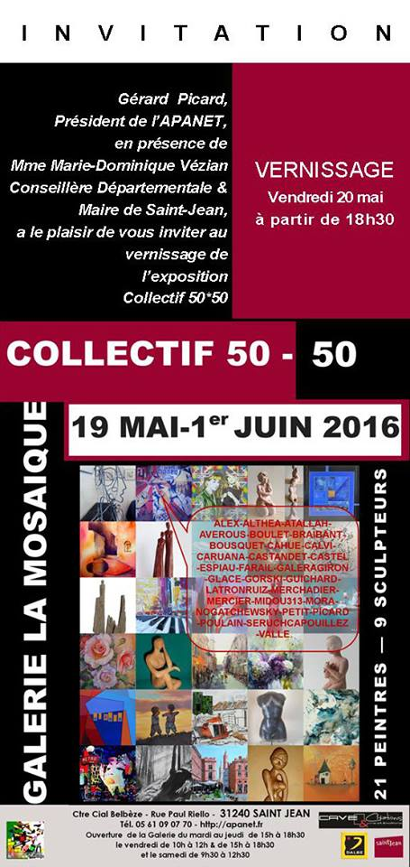 exposition apanet collectif 50 50