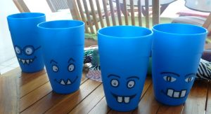 gobelets monstres enfants