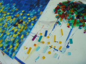 mosaique tableau creation
