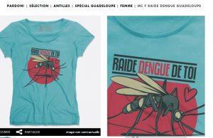 t shirt dengue humour pardon moustique