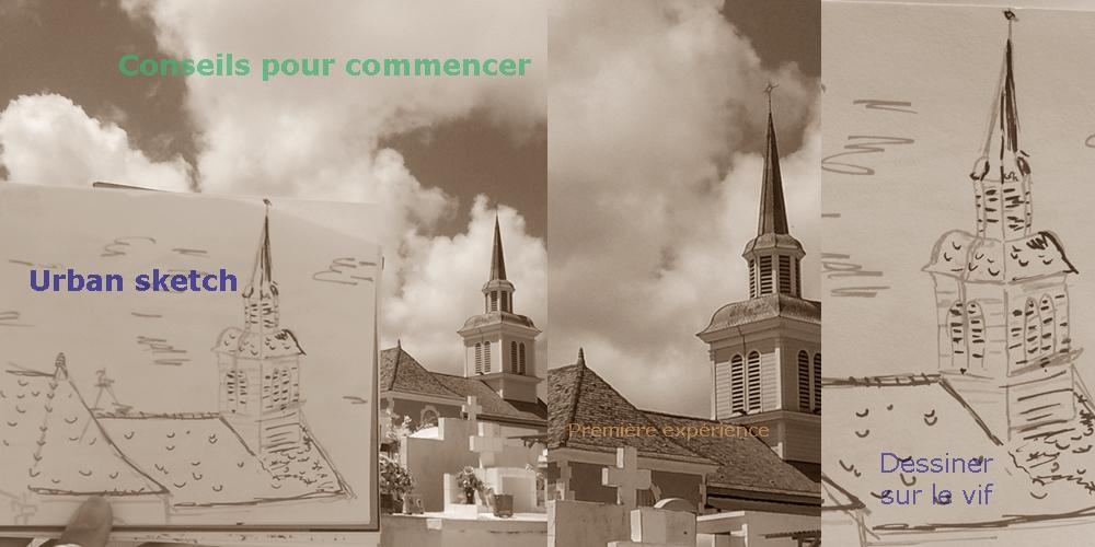 5 conseils pour débuter l'urban sketching