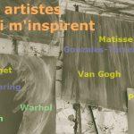 10 artistes qui m'inspirent