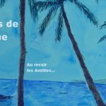 souvenirs de Martinique plage