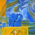 fleur bleue baniere
