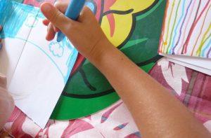 arc-en-ciel carte pop-up enfant activité