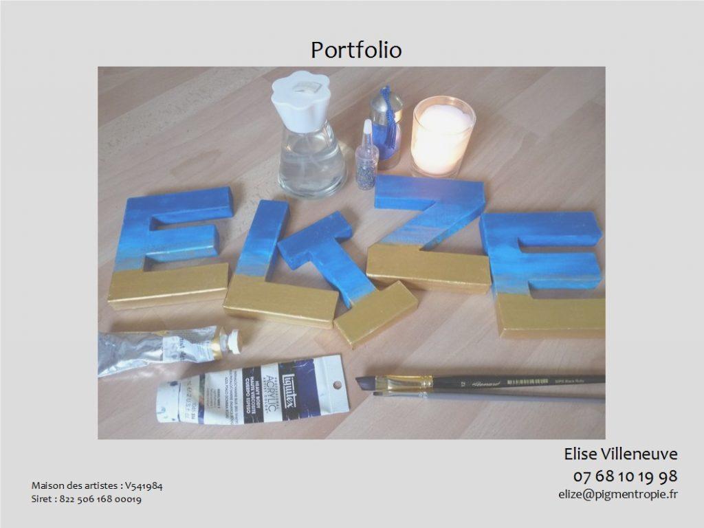 portfolio d'elize coordonnées