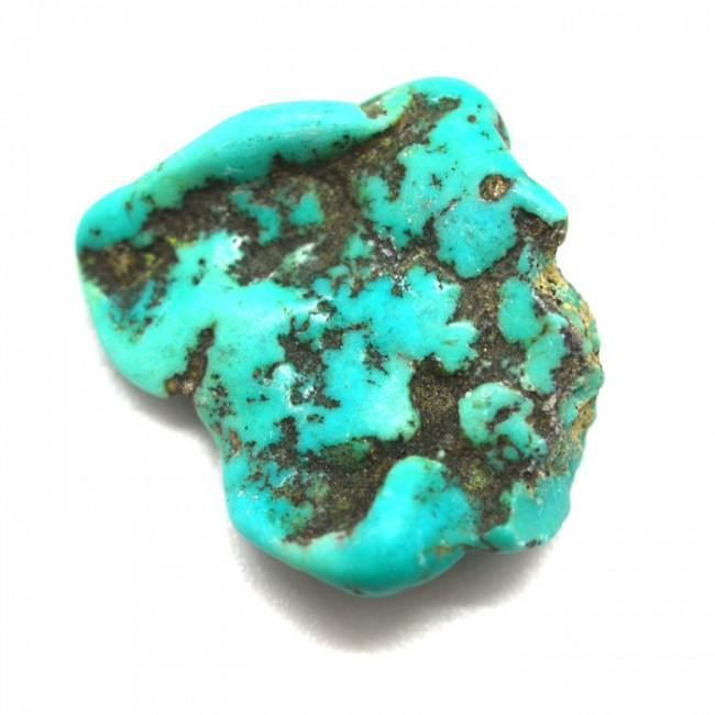 pierre turquoise brute