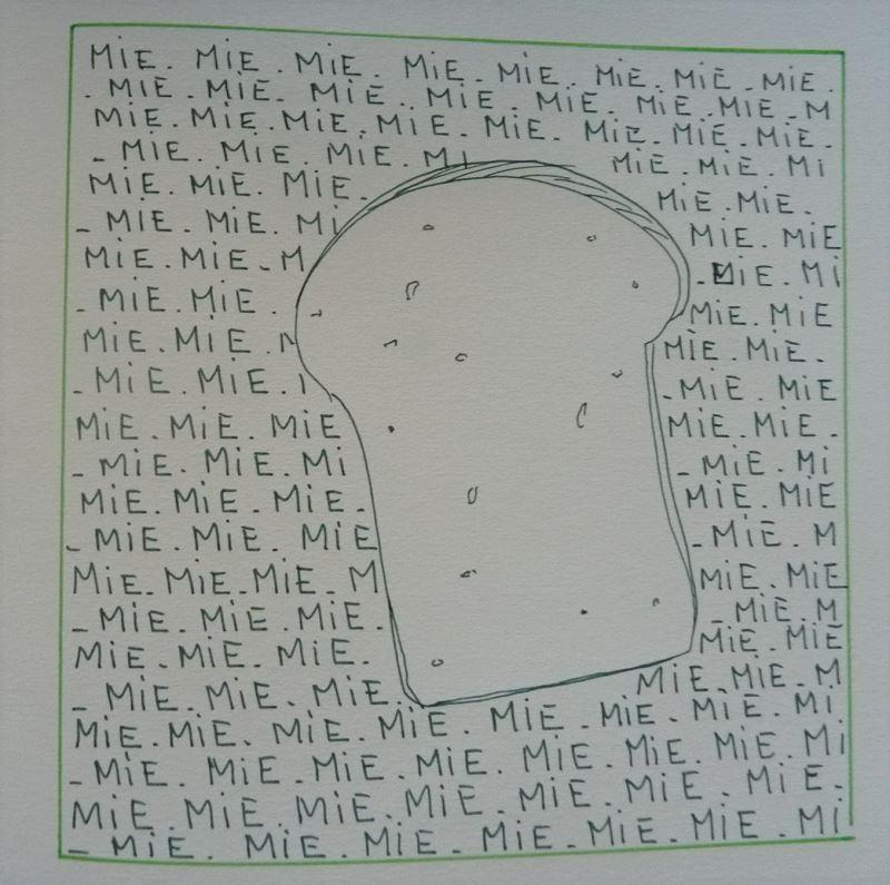 pain de mie dessin au feutre gris elize